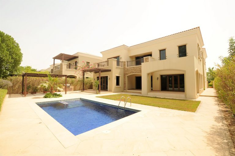 5BR Villa in Lime Tree Valley, Jumeirah Golf Estate   AED 7,850,000